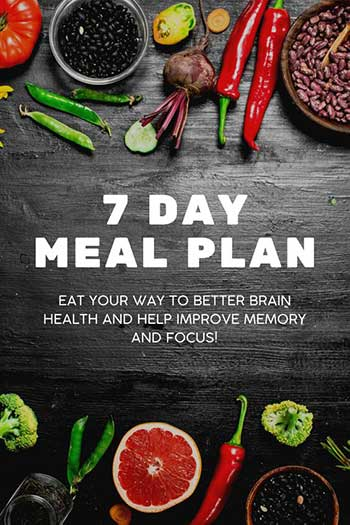 FREE 7 Day Meal Plan
